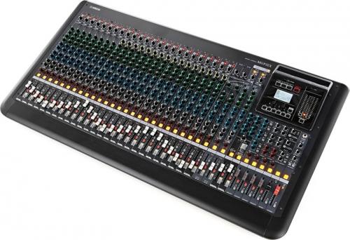 Alquiler mezclador hasta 32 canales, analógicos y digitales