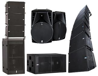 Alquiler sonido distintas configuraciones